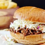Mouthwatering BBQ Carnitas Pork Sandwich with livelaughrowe.com