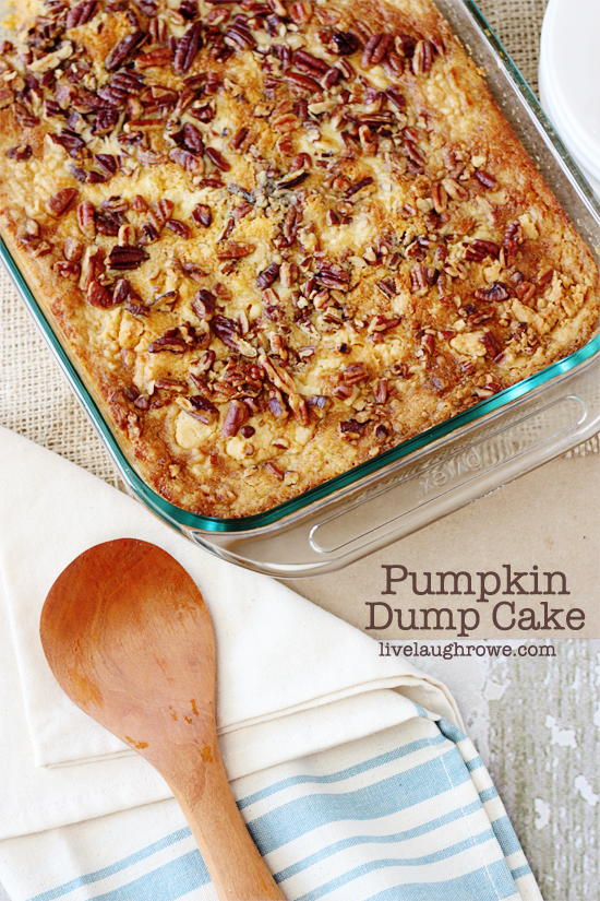 Pecan Cake Mix Butter Recipe Pumpkin
