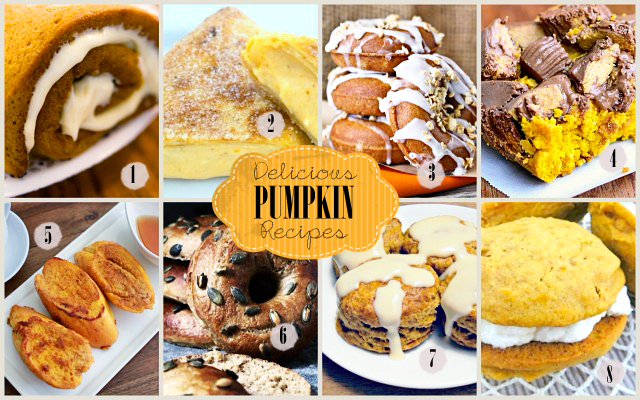 Delicious Pumpkin Recipes at LiveLaughRowe.com