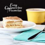 Delicious and Easy Cappuccino Tiramisu with livelaughrowe.com #CupOfKaffe #shop #cbias