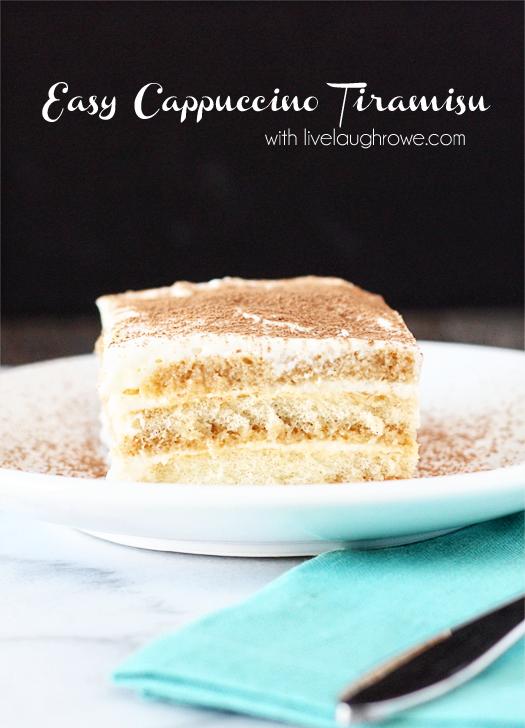 Easy Cappuccino Tiramisu with livelaughrowe.com #CupOfKaffe #cbias #shop