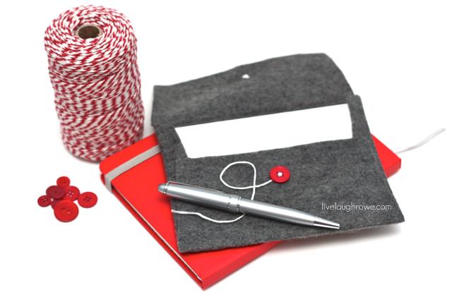 Fabulous Felt Envelopes with livelaughrowe.com