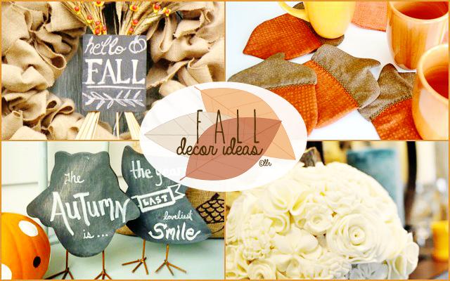 Fall Decor Features with livelaughrowe.com