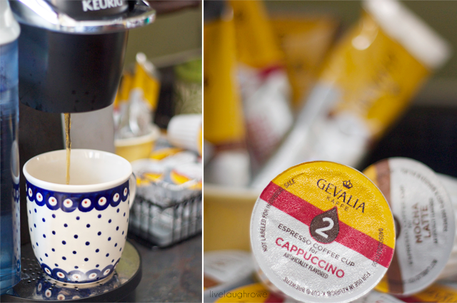 Gevalia cafe style drinks are the perfect everyday indulgence to enjoy at home! #CupOfKaffe #cbias #shop