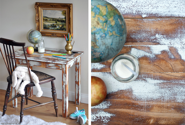 How To Heavily Distress Furniture with The Painted Hive
