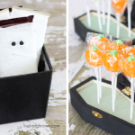 Mummy Chocolate Bars and Lollipop Coffins