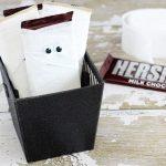 Mummy Chocolate Bars and Lollipop Coffins