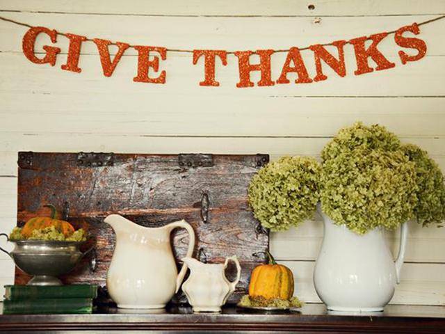 Be sure to Give Thanks!  Have a blessed and Happy Thanksgiving