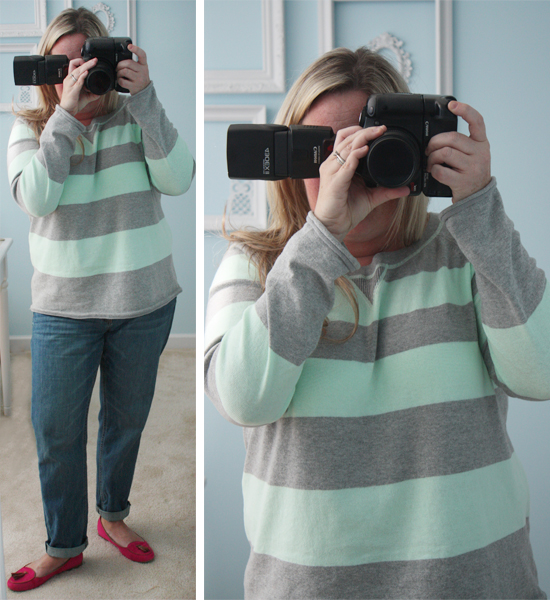 Mint Green and Stripes at Live Laugh Rowe.com