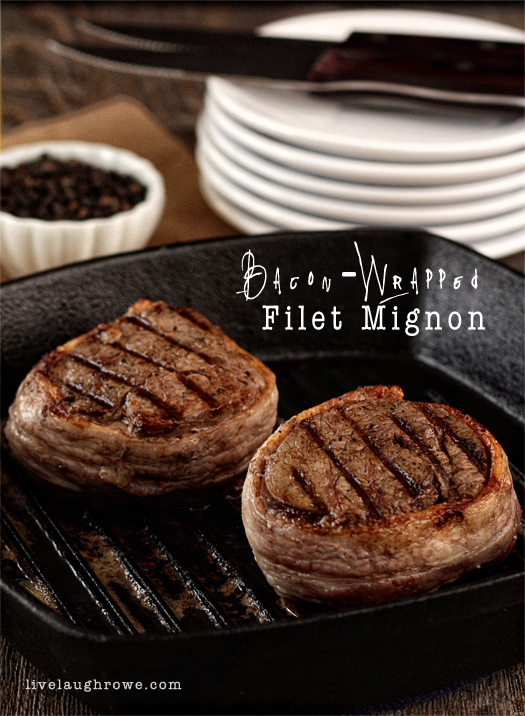 Perfectly Seasoned Bacon-Wrapped Filet Mignon