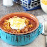 Three Bean Chili | Great Freezer Meal
