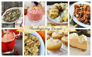 Thanksgiving Recipes | live laugh linky #88