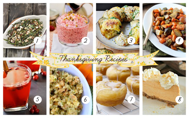 Thanksgiving Recipes featuring YOU at livelaughrowe.com