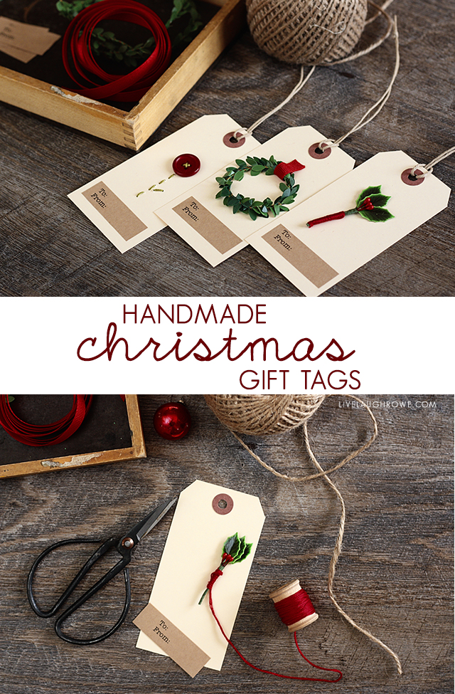 Christmas Gift Tags Diy.Diy Christmas Gift Tags Live Laugh Rowe