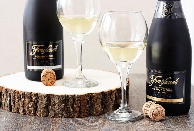 Delicious Freixenet Sparkling Wine with livelaughrowe.com