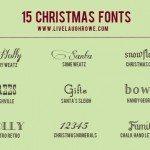 15 Free Christmas Fonts
