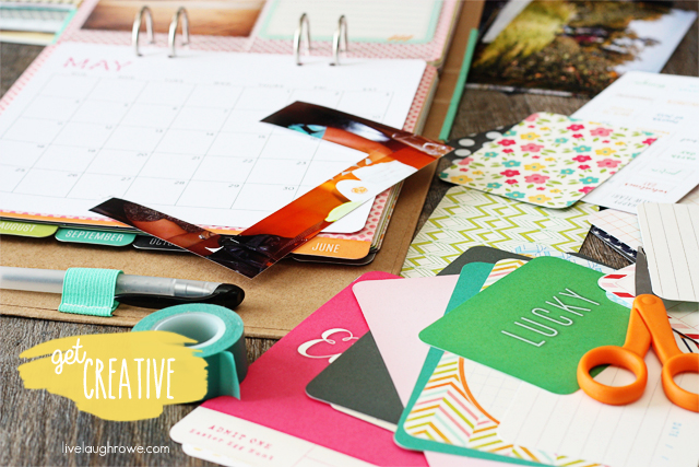 Getting crafty and creative with my Michaels Recollections Calendar Kit