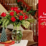 Holiday Flower Arranging #bouqlove
