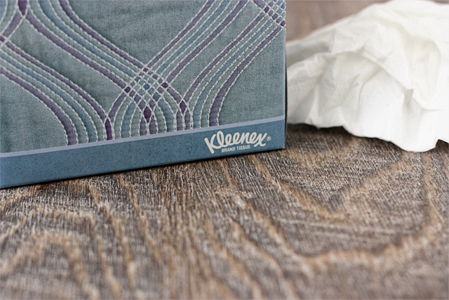 Kleenex has been a staple in our home for year, especially during cold and flu season.