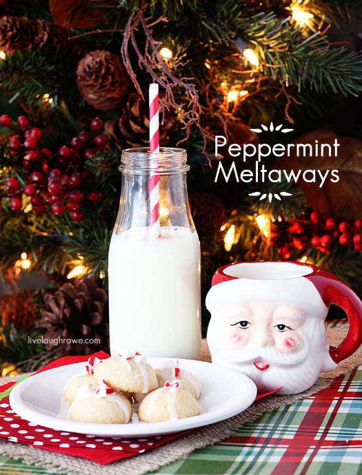 Peppermint Meltaways with livelaughrowe.com #peppermint