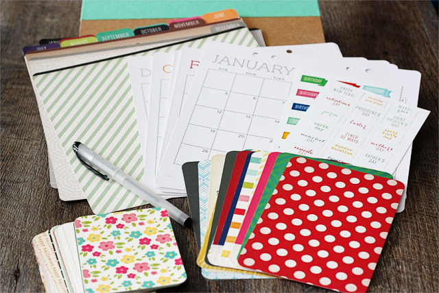 Calendar Kit Ideas : Diy calendar kit giftsatmichaels live laugh rowe