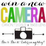Win a new Camera! Canon T3 DSLR
