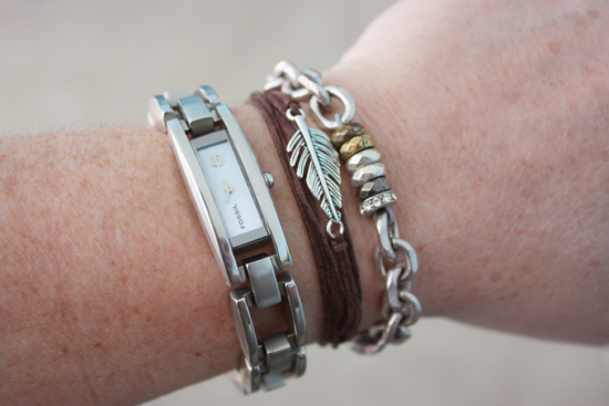 Fossil Watch and Bracelets