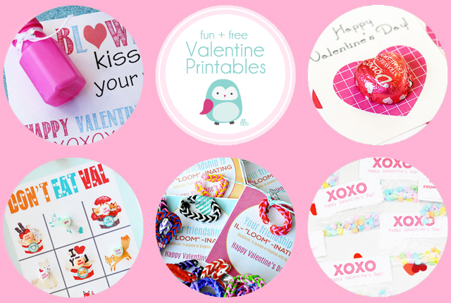 Fun and Free Valentine's Day Printables with livealughrowe.com