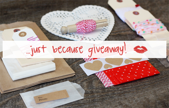 Just Because Valentines Crafty Supply Giveaway
