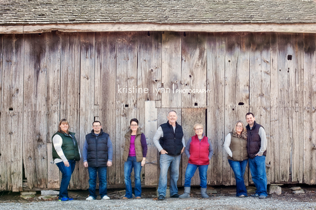Kuert-Rowe Clan December 2013