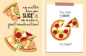 A Pizza Valentine or Two