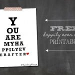 You Are My Happily Ever After Printable