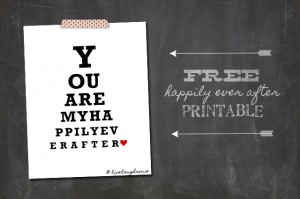 Happily Ever After Printable