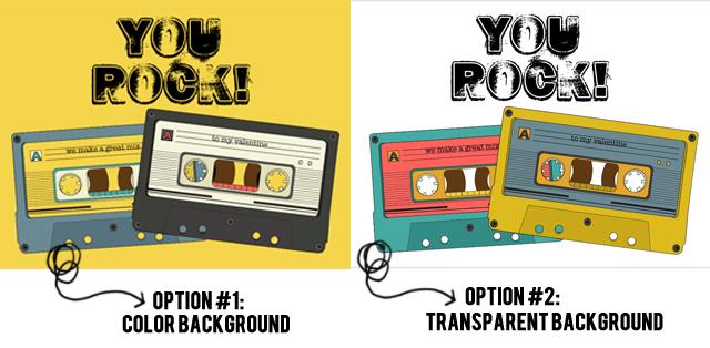You Rock Printable Valentine Options at livelaughrowe.com