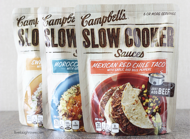 Introducing the new Campbells Slowe Cooker Sauces