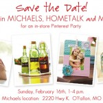 Save the Date!  In-Store Pinterest Party