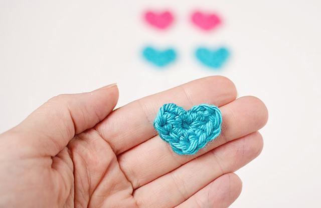Tiny Crochet Heart Pattern