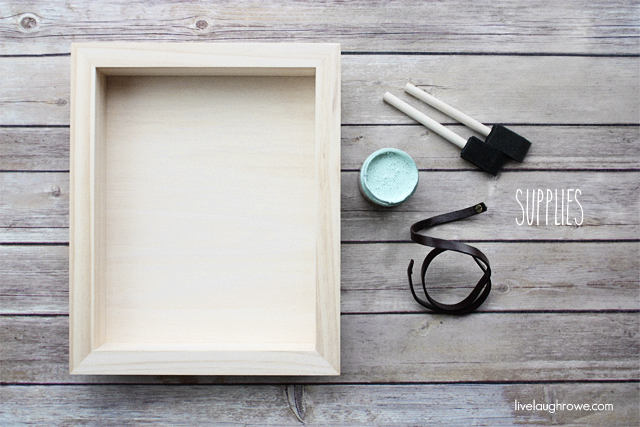 supplies for diy decorative tray