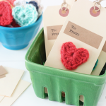 Crochet Heart Gift Tags