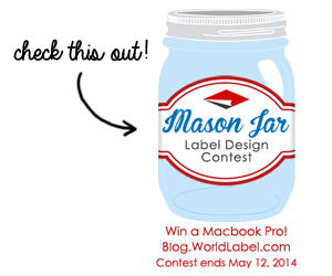 Check this out! World Label Mason Jar Contest