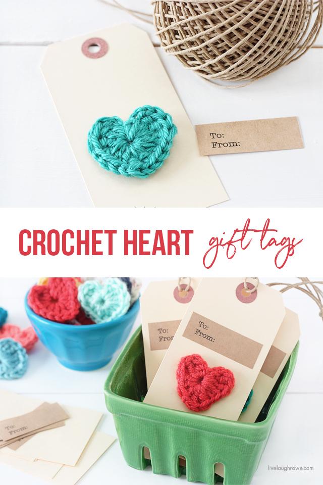 Crochet Hearth Gift Tags