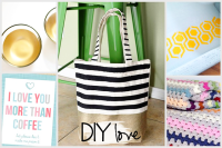 DIY Love Features with livelaughrowe.com