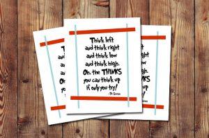 Free Dr. Seuss Printable! livelaughrowe.com