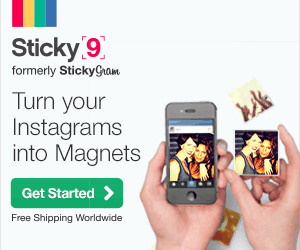 Instagram Magnets and More with Sticky9