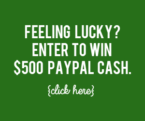 Luck of the Irish $500 PayPal Giveaway