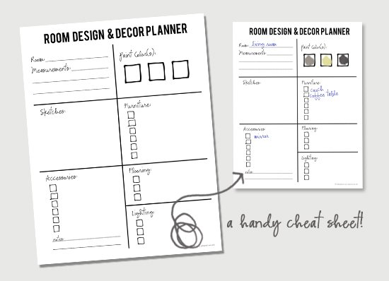 Six tips on room design and decor planning live laugh rowe Room planner free