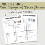 Six Tips on Room Design and Decor Planning