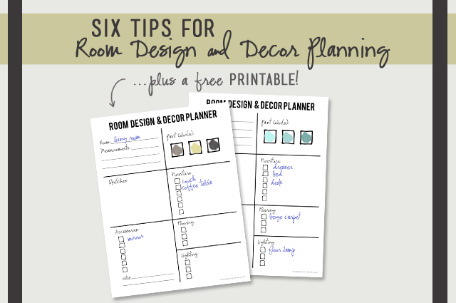 Six Tips On Room Design And Decor Planning Live Laugh Rowe