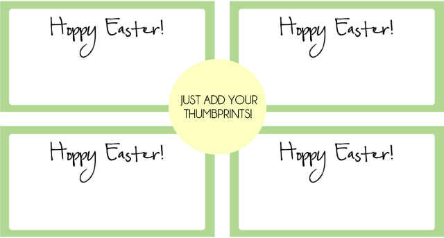 simply print and add your thumbprint and doodles