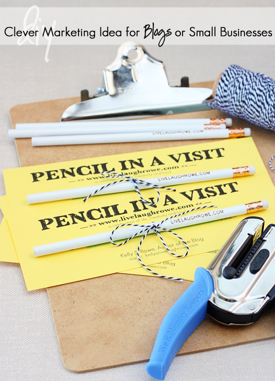 Pencil In A Visit Promotion Live Laugh Linky 109 Live
